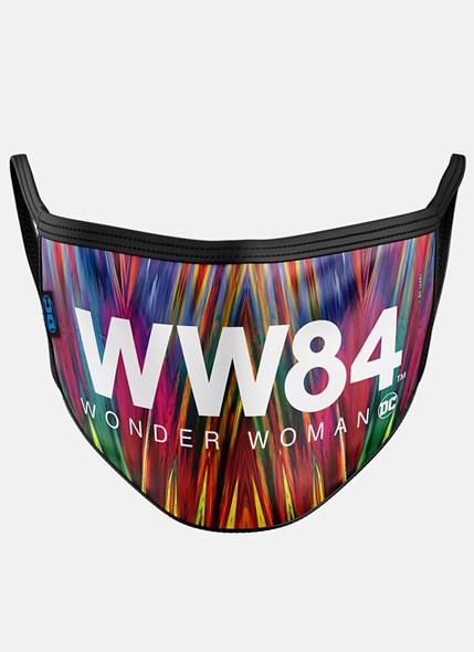 Máscara Mulher Maravilha 1984 Logo Filme