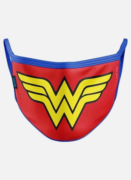 Máscara Mulher Maravilha Logo