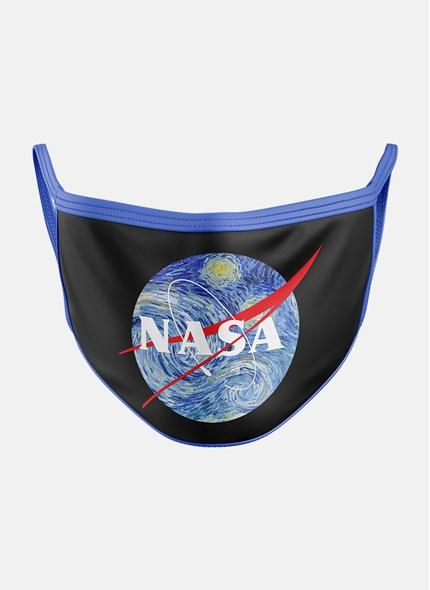 Máscara NASA Logo Planet