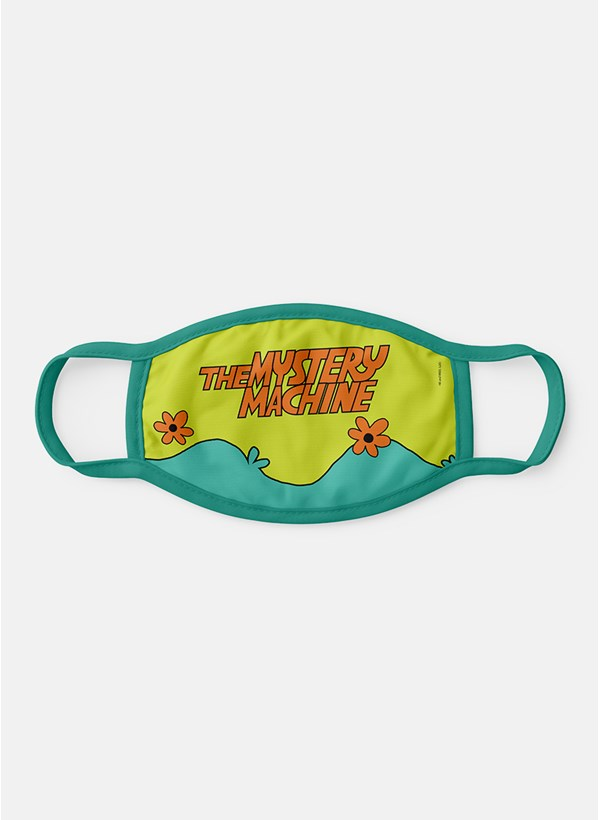 Máscara Scooby! Máquina de Mistério Logo