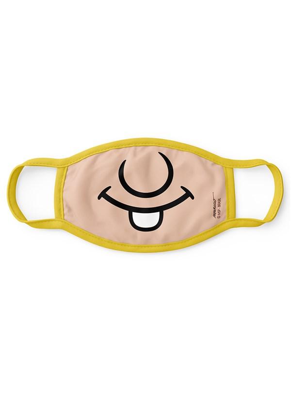 Máscara Turma da Mônica Boquinha Chico Bento