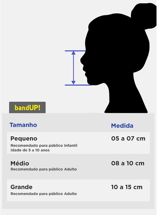 Máscara Turma da Mônica Boquinha Mingau