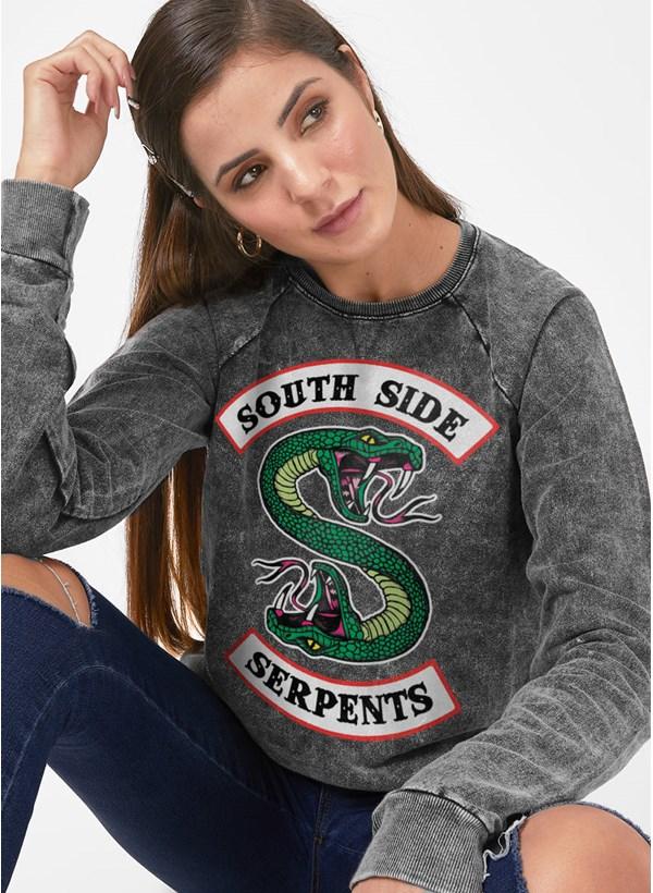 Moletinho Marmorizado Riverdale South Side Serpents