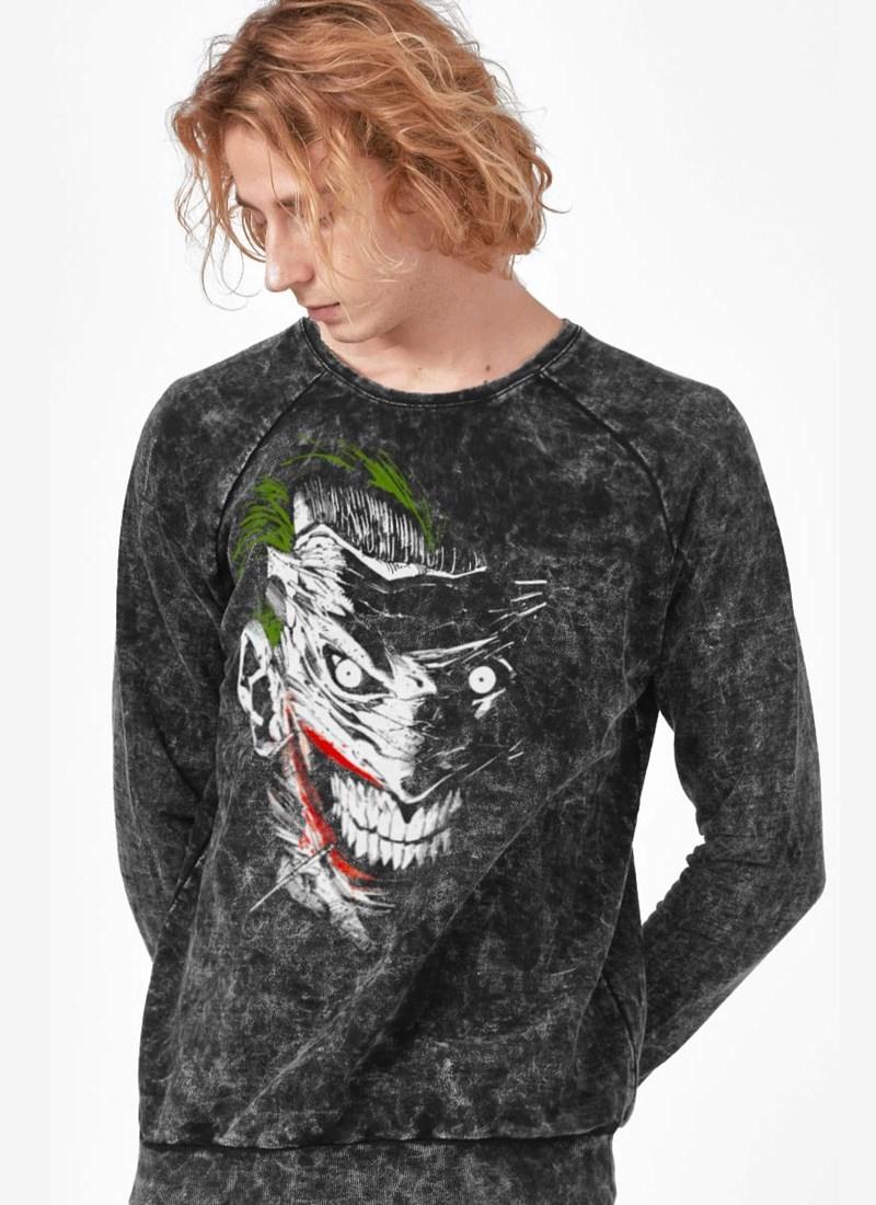 Moletinho Marmorizado The Joker Sorriso Maquiavélico