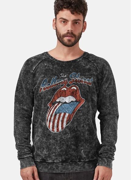 Moletinho Marmorizado The Rolling Stones USA Flag