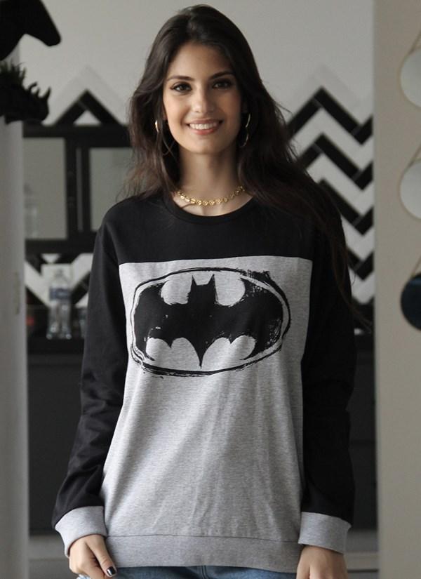 Moletom Bicolor Batman Logo