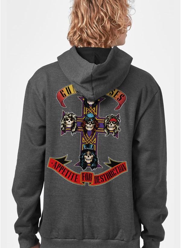 Moletom Guns N' Roses Appetite For Destruction