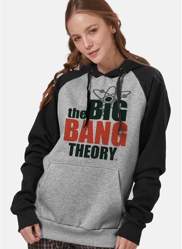 Moletom Raglan The Big Bang Theory Logo