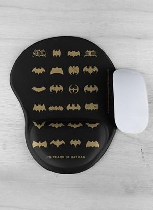 Mousepad Batman 75 Anos Logos Collection