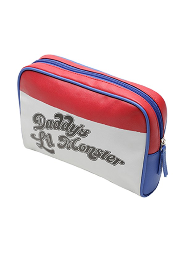 Necessaire Grande Esquadrão Suicida Daddy's Lil Monster