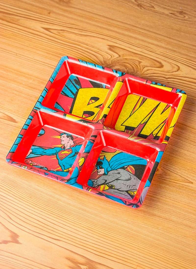 Petisqueira Batman e Superman