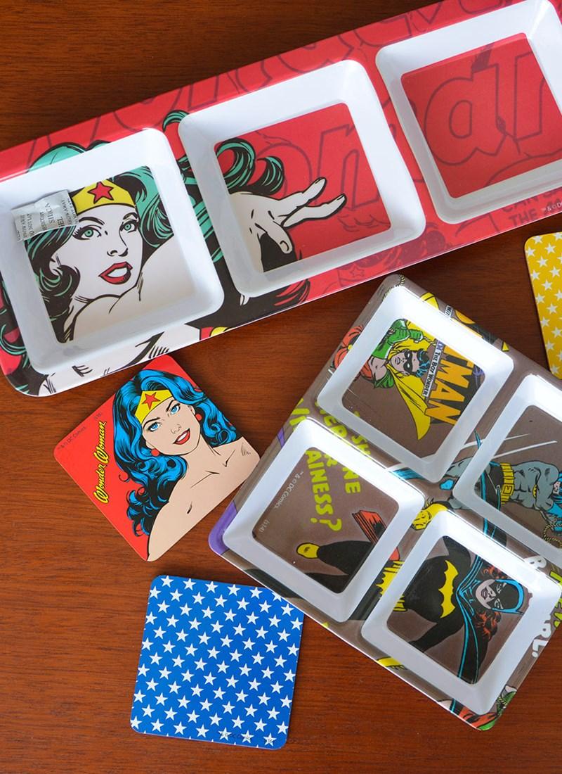 Petisqueira Wonder Woman