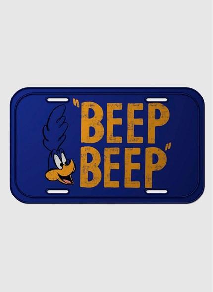 Placa de Parede Looney Tunes Papaléguas Beep Beep