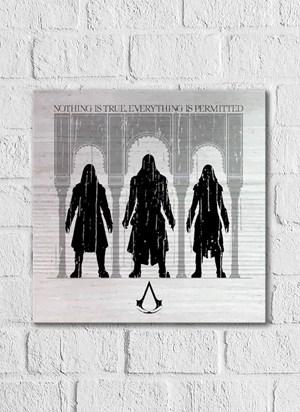 Quadro Assassin's Creed Filme Assassinos