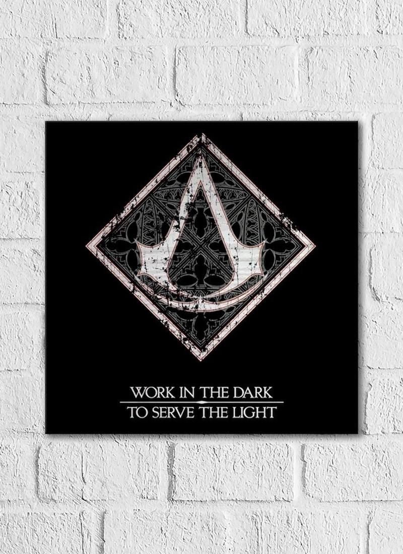 Quadro Assassin's Creed Filme Crest