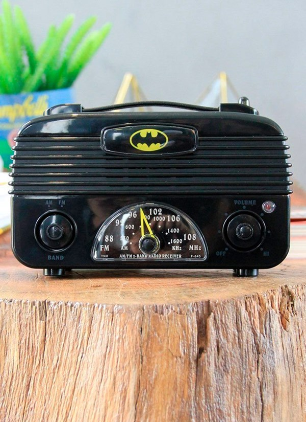 Rádio AM/FM Batman Logo