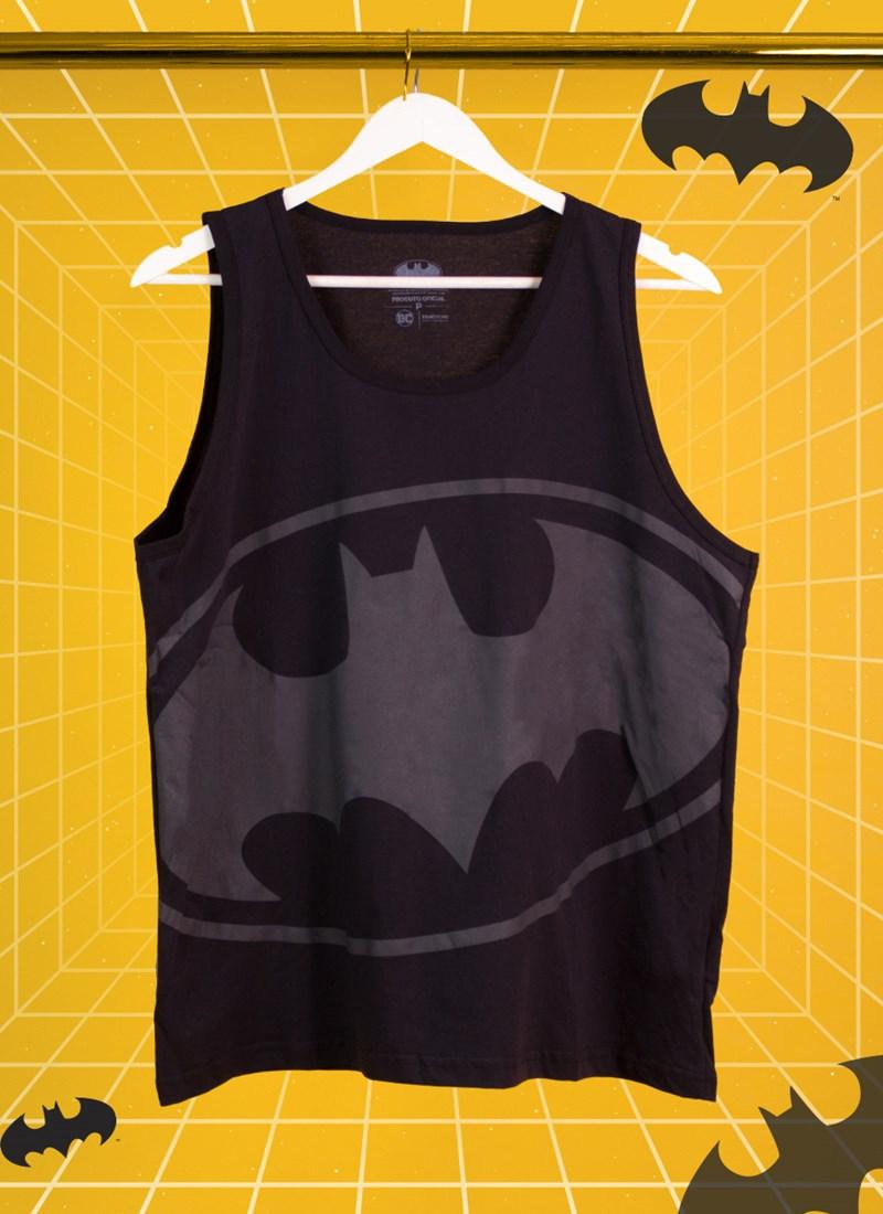 Regata Masculina Batman Logo Full