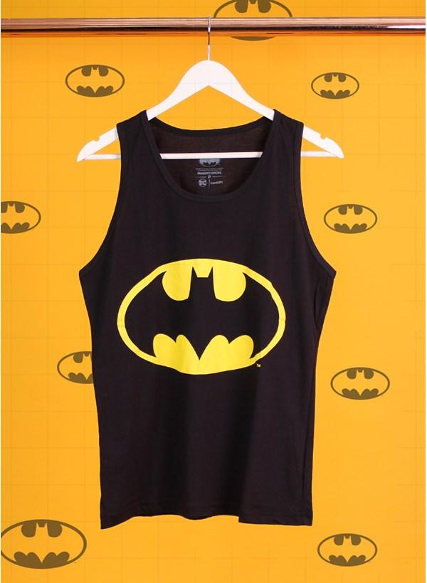 Regata Masculina Batman Logo Oficial