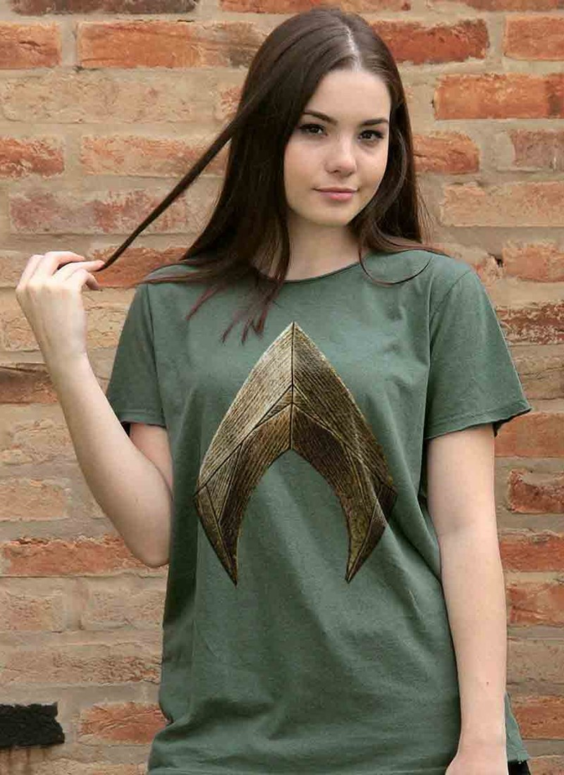 T-shirt Aquaman Logo Movie