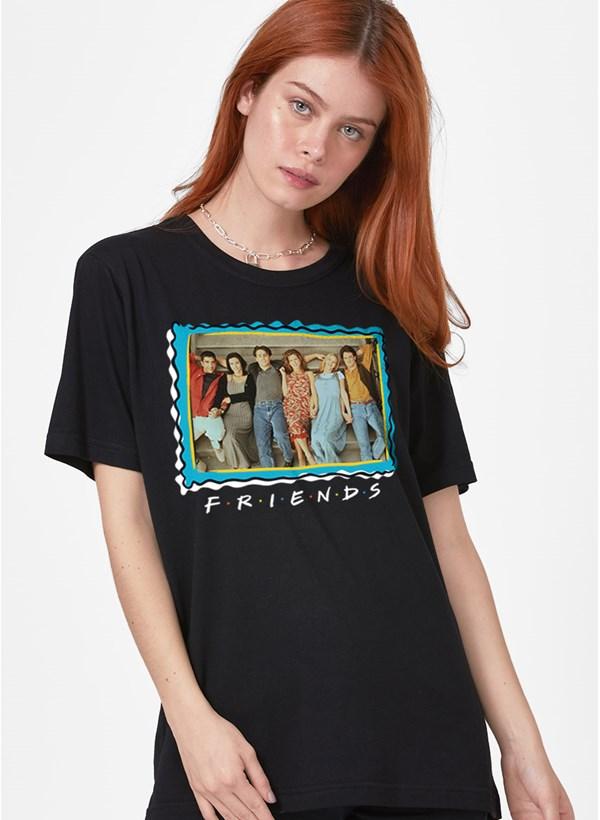 T-Shirt Feminina Friends Selo