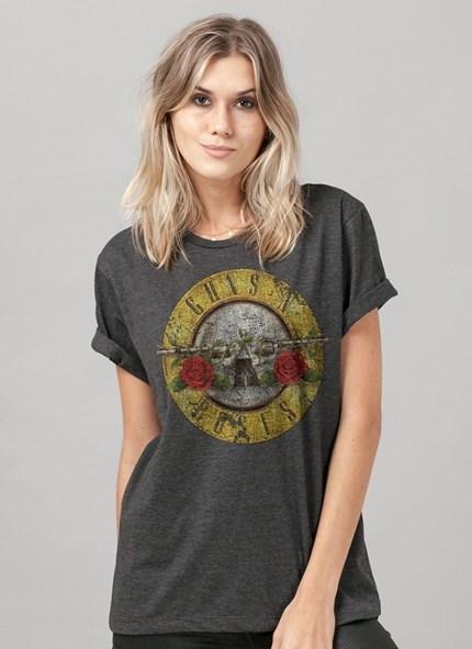 T-shirt Guns n' Roses Bullet Mescla