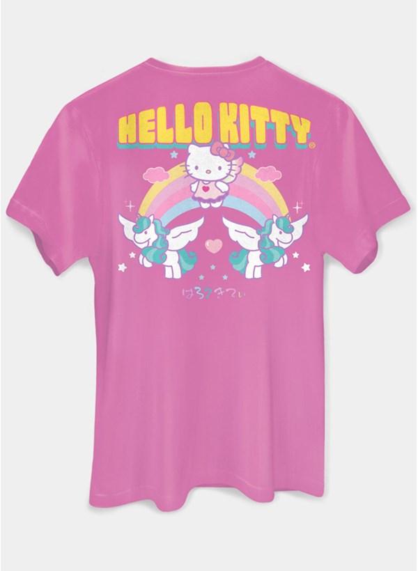 T-shirt Hello Kitty Follow The Rainbow