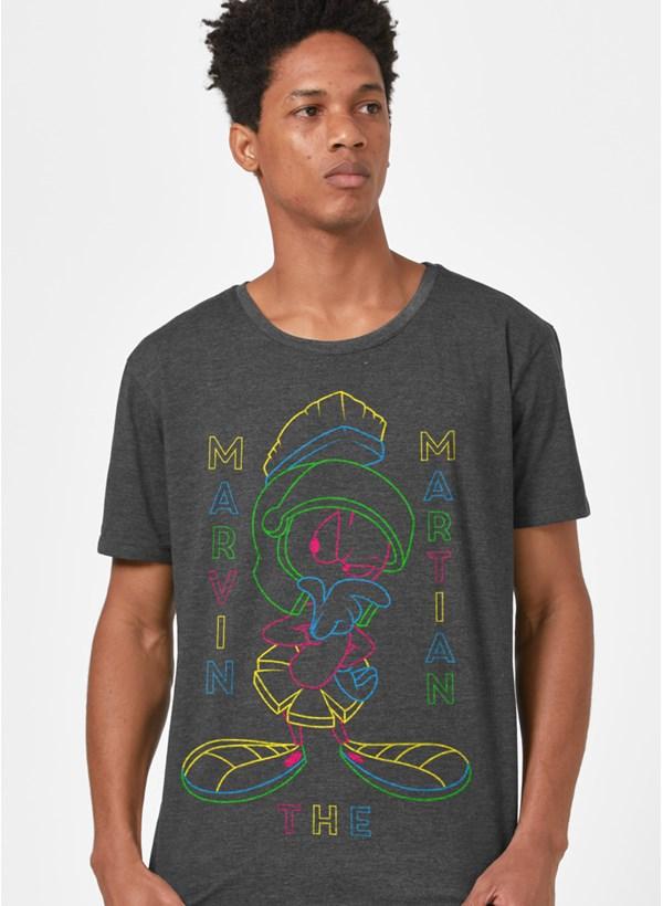 T-shirt Looney Tunes Marvin Neon