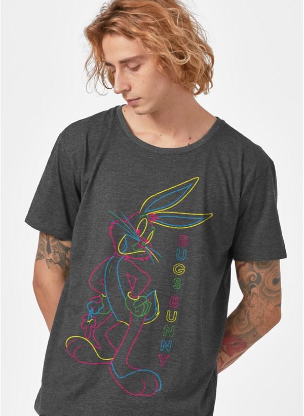 T-shirt Looney Tunes Pernalonga Neon