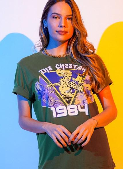T-shirt Mulher Maravilha 1984 The Cheetah 1984