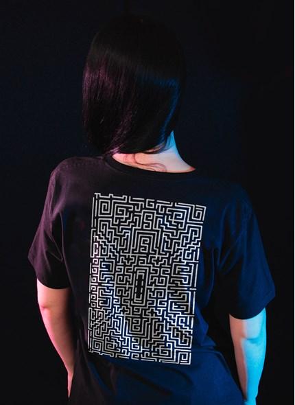 T-shirt O Iluminado Labirinto