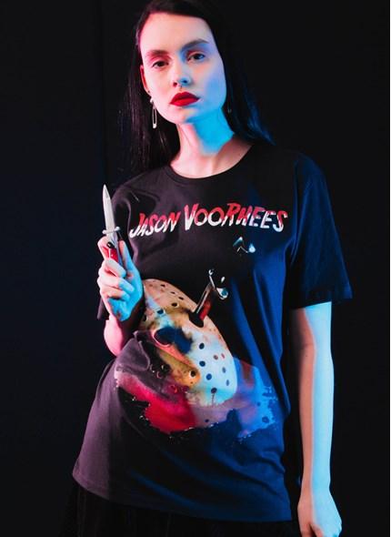 T-shirt Sexta-Feira 13 Jason Mask