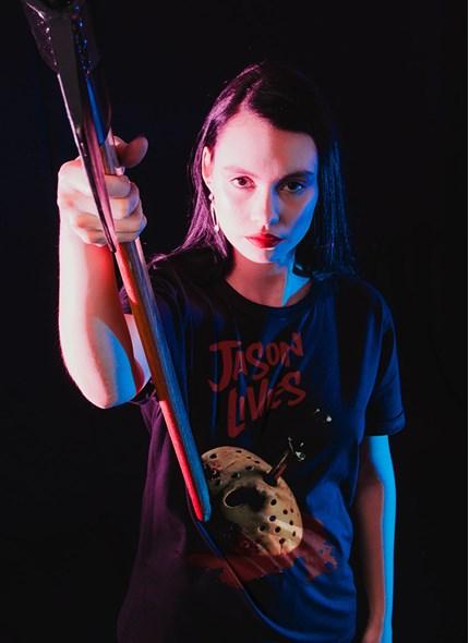 T-shirt Sexta-Feira 13 Jason Vive