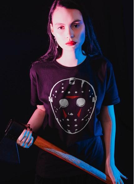 T-shirt Sexta-Feira 13 Máscara do Jason