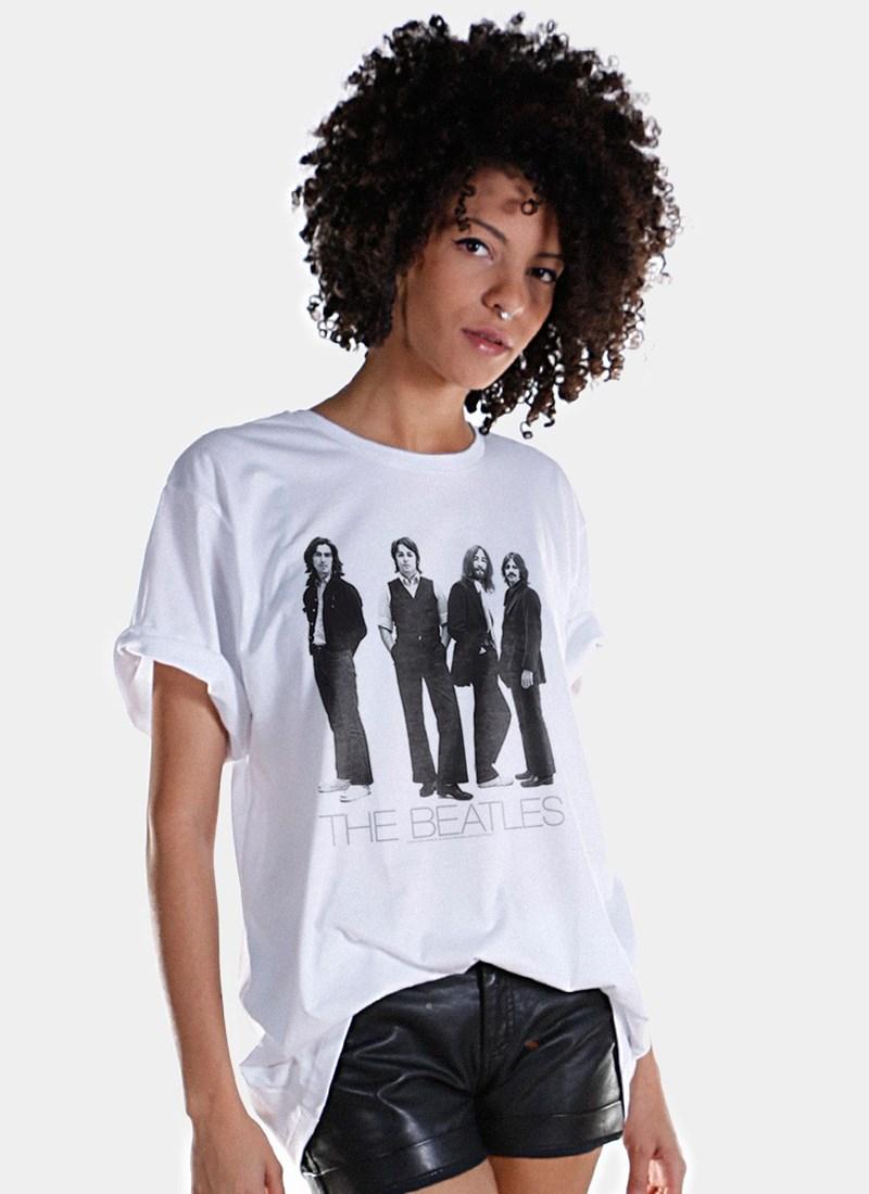 T-Shirt The Beatles White Album Basic