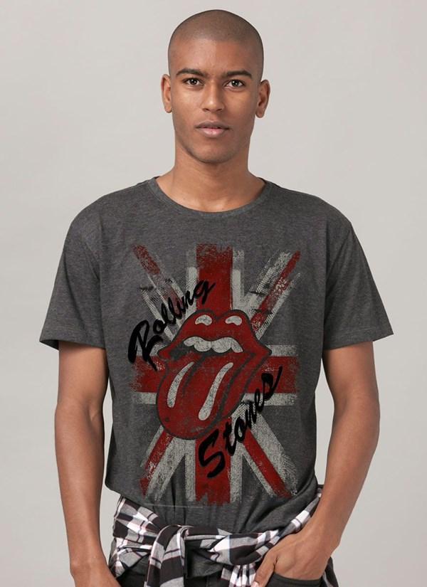 T-shirt The Rolling Stones British Tongue