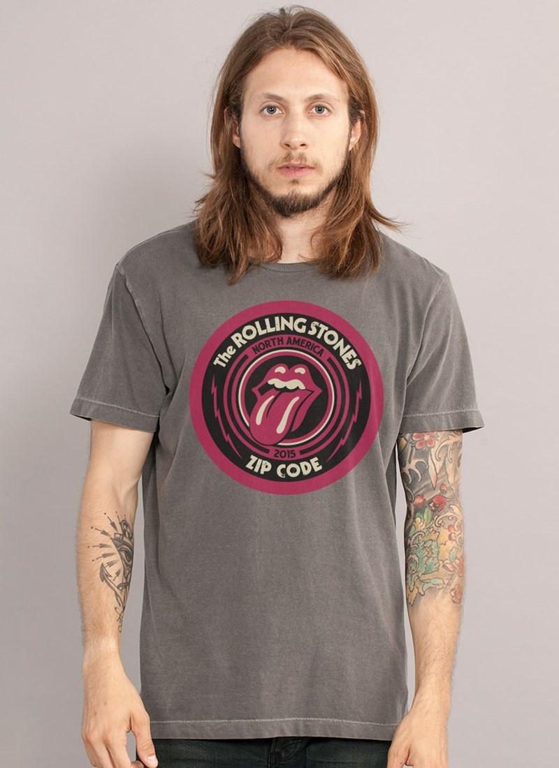 T-shirt The Rolling Stones Zip Cod
