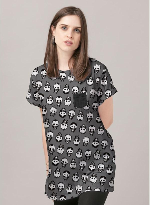 T-Shirt Turma da Mônica Raio X