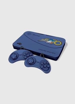 Videogame Master System Evolution Blue com 132 Jogos na Memória